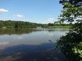 Shelley Lake, North Carolina Royalty Free Stock Photo