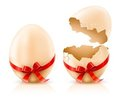 Shells of easter eggs Royalty Free Stock Photography