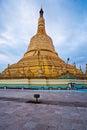 Shemawdaw paya, Bago, Myanmar. Stock Images