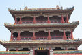 Shenyang imperial palace liaoning china july architecture of the complex forbidden city in liaoning province Stock Images