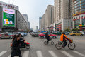 Shenyang streets Royalty Free Stock Photography