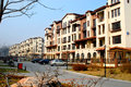 Shenyang tahiti housing estate located in the northern new district shen it is built according to the spanish construction style Royalty Free Stock Photos