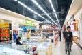Shenzhen china commodity shopping plaza baoan xixiang small the interior landscape Stock Photos