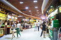 Shenzhen china delicious food street landscape luohu dongmen commercial there is a rich local snacks attracted many visitors taste Stock Images