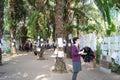 Shenzhen, China: marriage corner Royalty Free Stock Photo