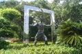 Shenzhen chinese sculpture landscape museum a symbol of spirit Stock Photos