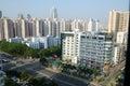 Shenzhen city - Futian district Royalty Free Stock Photo