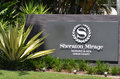 Sheraton mirage resort spa gold coast queensland australien Royaltyfri Fotografi