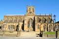 Sherborne abbey the church of st mary the virgin at in the english county of dorset Royalty Free Stock Photo