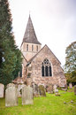 Shere village church surrey england uk Royalty Free Stock Photography