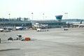 Sheremetyevo airport. Airfield Royalty Free Stock Photo