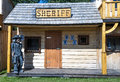 Sheriff old western style s office Royalty Free Stock Photography