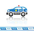 Sheriff's patrol car Royalty Free Stock Photography