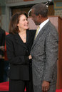 Sherry Lansing,Sydney Poitier Royalty Free Stock Photo