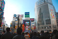 Shibuya junction Royalty Free Stock Photography