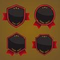 Shield, Badges Vector