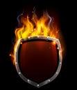 Shield in Flames