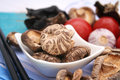 Shiitake mushrooms Royalty Free Stock Photos