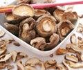 Shiitake Mushrooms Royalty Free Stock Photo