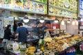 The Shilin Night Market in Taipei, Taiwan. Royalty Free Stock Photo
