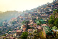 Shimla aireal view Royalty Free Stock Photo