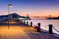 Shimonoseki Waterfront Royalty Free Stock Photo
