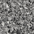 Shingle beach in black-and-white Stock Photos