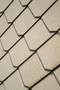 Shingles as wall cladding on the facade of a house Stock Images