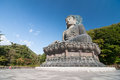 Shinheungsa temple in south korea big budha Stock Photo