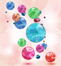 Shining abstract background Royalty Free Stock Image