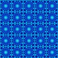 Shining blue moonlight seamless pattern