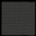 Shining chainmail texture close up image Royalty Free Stock Photography