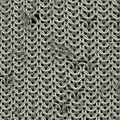 Shining chainmail texture close up image Stock Photo