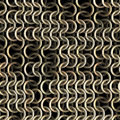 Shining chainmail texture close up image Royalty Free Stock Photos