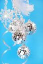 Shining christmas decoration Royalty Free Stock Images