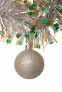 Shining christmas-tree decoration. Royalty Free Stock Photography