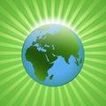 Shining globe Stock Photos