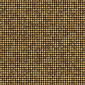Shining Golden Dots Disco Mosaic Background Royalty Free Stock Photo