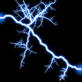 Shining lightning Royalty Free Stock Images