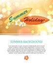 Shining Summer Paradise Holida...