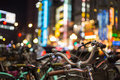 Shinjuku Bikes Royalty Free Stock Photo
