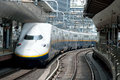 Shinkansen bullet train Royalty Free Stock Photography