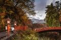 Shinkyo Bridge, Nikkō (Tochigi) Kanto, Japan Royalty Free Stock Photo