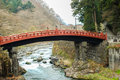 Shinkyo bridge, Nikko, Japan Royalty Free Stock Image