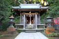 Shinto shrine in kamakura japan Royalty Free Stock Images