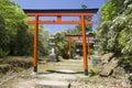 Shinto shrine in Nara, Japan