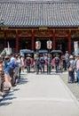 Shinto wedding celebrations at Shiji-ji Shrine In Tokyo, Japan Royalty Free Stock Photo