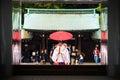 Shinto wedding at Meiji Shrine, Tokyo Royalty Free Stock Photo