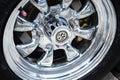 Shiny alloy wheel for VW Beetle Royalty Free Stock Photo