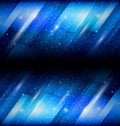 Shiny blue background Royalty Free Stock Images